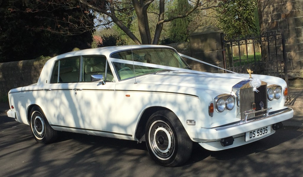 Rolls Royce Silver Shadow 2 LE - White