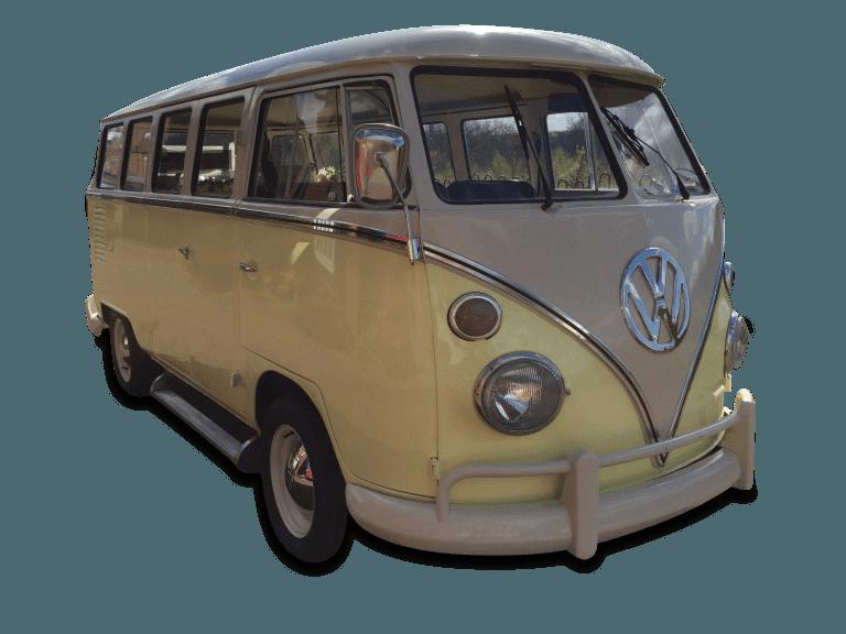 VW Splitscreen Wedding Campervan
